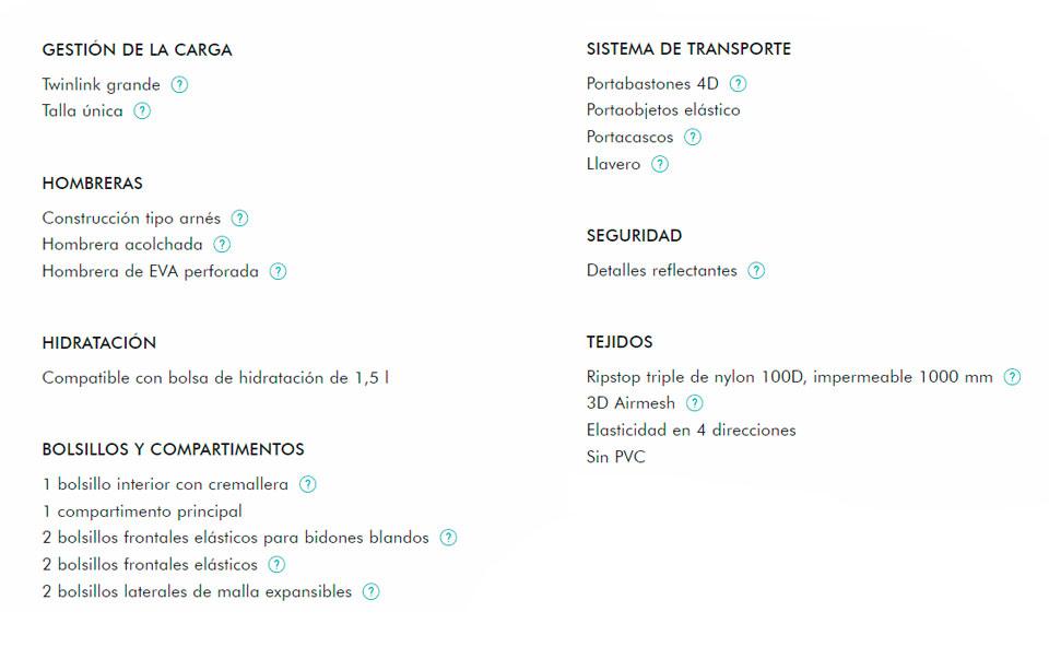 caracteristicas-salomon-agile-12-set